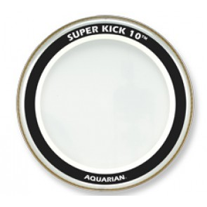 "Aquarian Super Kick 10 22"" Clear Bass Drumhead"