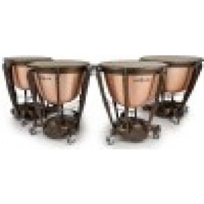 "MAJESTIC Symphonic Series, Polished Copper, (set of 4: 23"", 26"", 29"", 32"")"