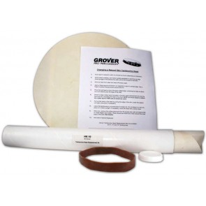 Grover Tambourine Head Replacement Kit - 10""