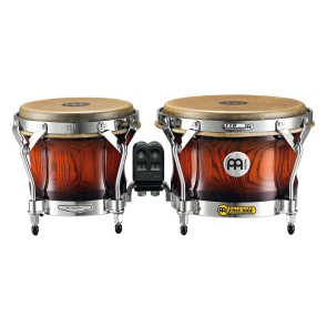 "Meinl Free Ride Series Woodcraft Bongos 7"" & 9"" Antique Mahogany Burst"