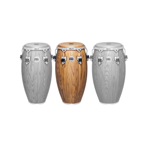 "Meinl Woodcraft Series 11 3/4"" Conga Zebra Finished Ash"