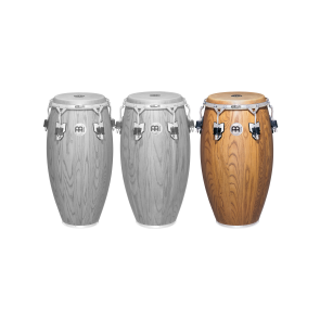 "Meinl Woodcraft Series 12 1/2"" Tumba Zebra Finished Ash"