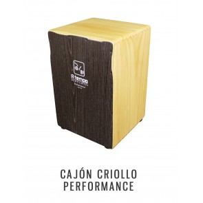 A Tempo Percussion Performance Cajon in Black Wood Grain