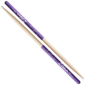 Zildjian 7A Nylon Purple DIP Drumsticks