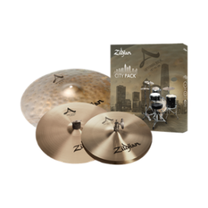 A Zildjian City Pack Cymbal Set