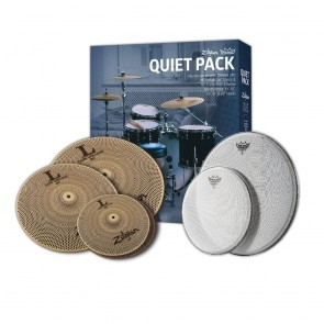 Zildjian Remo Quiet Pack With Low Volume Cymbals and Silent Stroke Heads