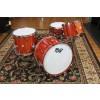 Doc Sweeney Drums Padauk Stave Shell Drum Kit, 14x22, 9x13 tom, 14x16 Floor, Matching 6x14 Snare Drum