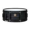 "TAMA Metalworks 5.5""x14"" Steel snare drum with Matte Black Shell Hardware"