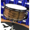 Noble & Cooley Walnut Snare, 6.5X14, Clear Matte, Flanger Black, Woodburn Logo
