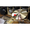 "Zildjian 18"" K Zildjian Dark Crash Medium Thin -Demo of Exact Cymbal - 1351g"