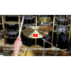 "Zildjian 16"" A Zildjian Medium Crash-Demo of Exact Cymbal-1065g"