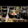 """Zildjian 16"""" A Zildjian Medium Crash-Demo of Exact Cymbal-1065g"""