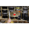 "Zildjian 18"" K Custom Special Dry Crash Cymbal-Demo of Exact Cymbal-1279g"