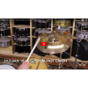 "Zildjian 18"" K Custom Fast Crash-Demo of Exact Cymbal-1293g"