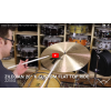 "Zildjian 20"" K Custom Flat Top Ride-Demo of Exact Cymbal-2255g"
