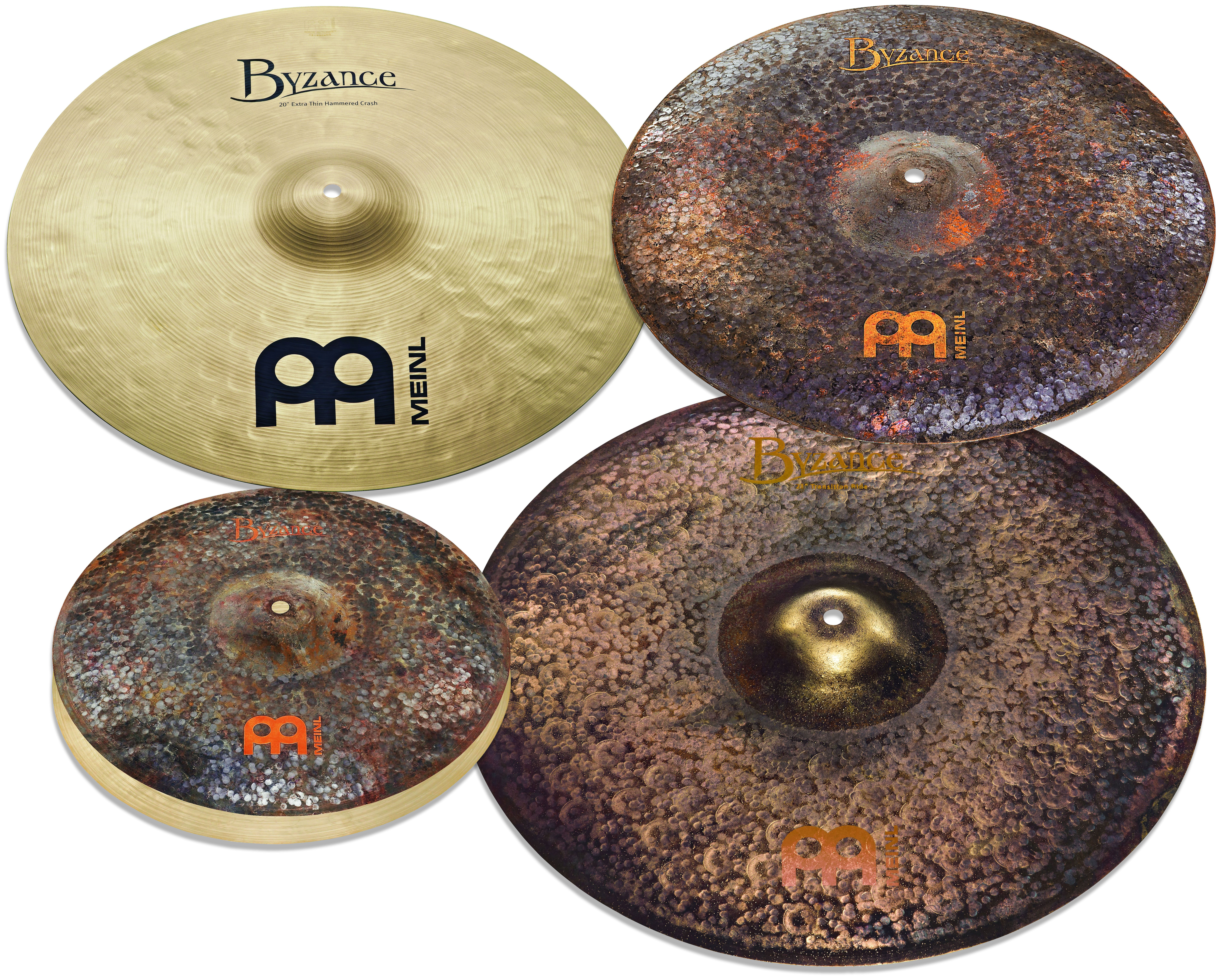 Image is loading Meinl-Byzance-Mike-Johnston-Cymbal-Pack-Box-Set- 52f971effe