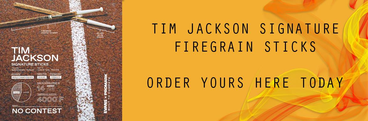 Tim Jackson Signature Sticks