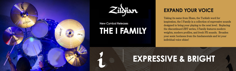 Zildjian i Family Banner