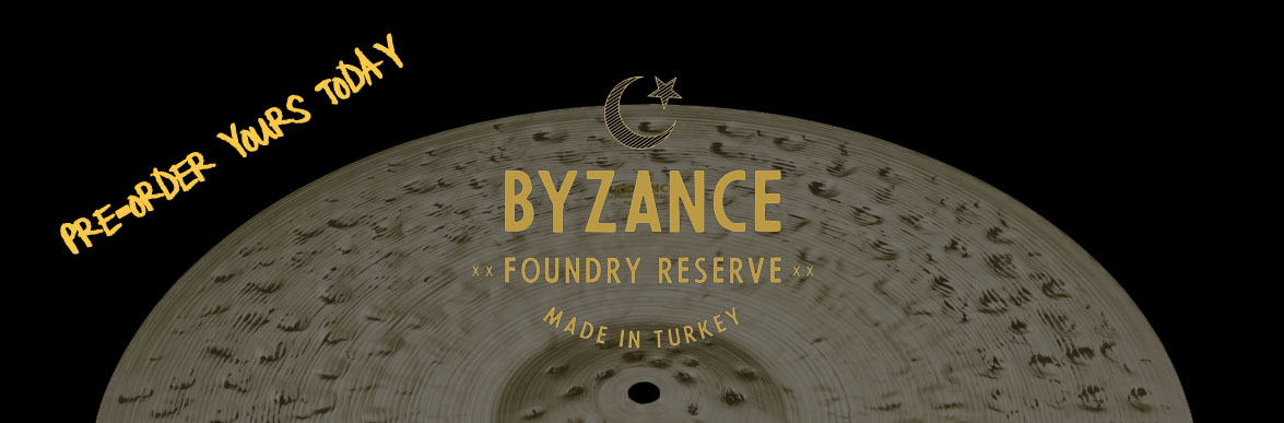 Meinl Byzance Foundry Reserve Cymbals