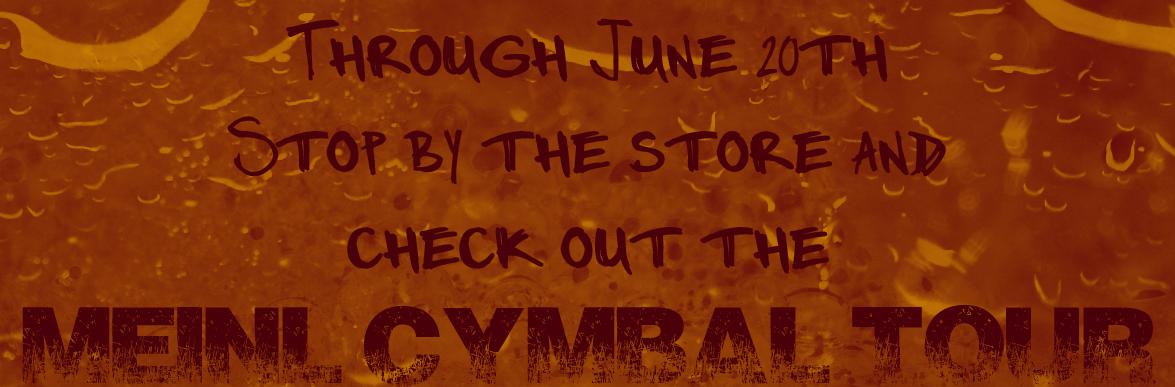 Meinl Cymbal Tour