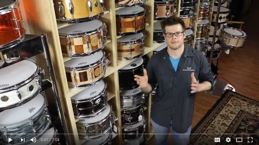 Columbus Percussion In-Depth- Holloman Custom Drums Interview